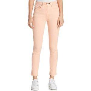 Rag & bone skinny jeans high rise